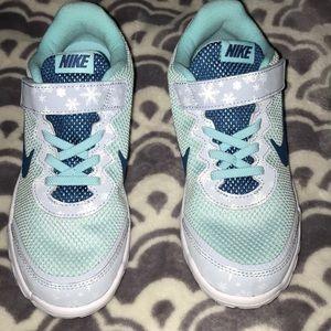 NWT Pale Blue Nike tennis shoes